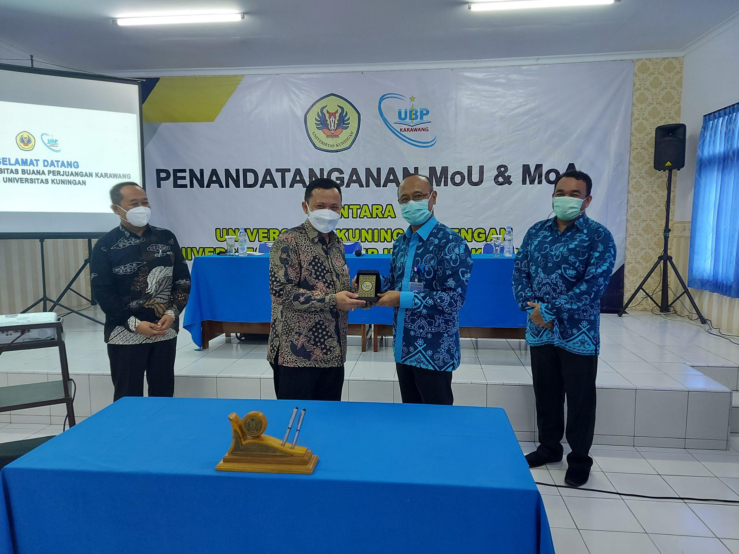 Sukseskan MBKM, UBP Karawang Jalin Kerjasama Dengn Universitas Kuningan
