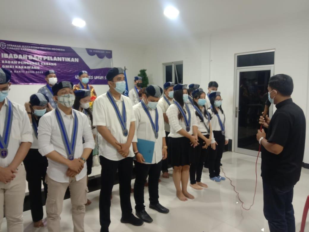 Areslon Terpilih Nahkodai GMKI Karawang 2020-2022