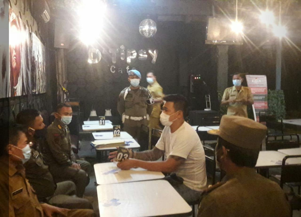 Disidak Disperindag dan Satpol PP, Kafe D'Tipsy Disanksi