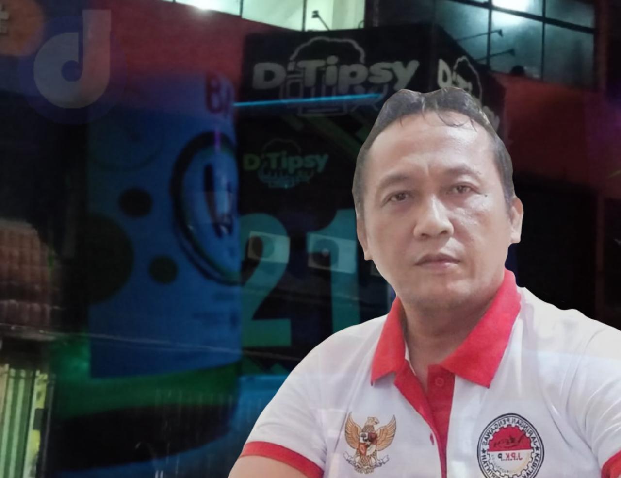 Kafe D'Tipsy Tak Kunjung Ditutup, J.P.K.P Jabar Mencium Aroma Dugaan Kongkalingkong Oknum Pejabat Disperindag