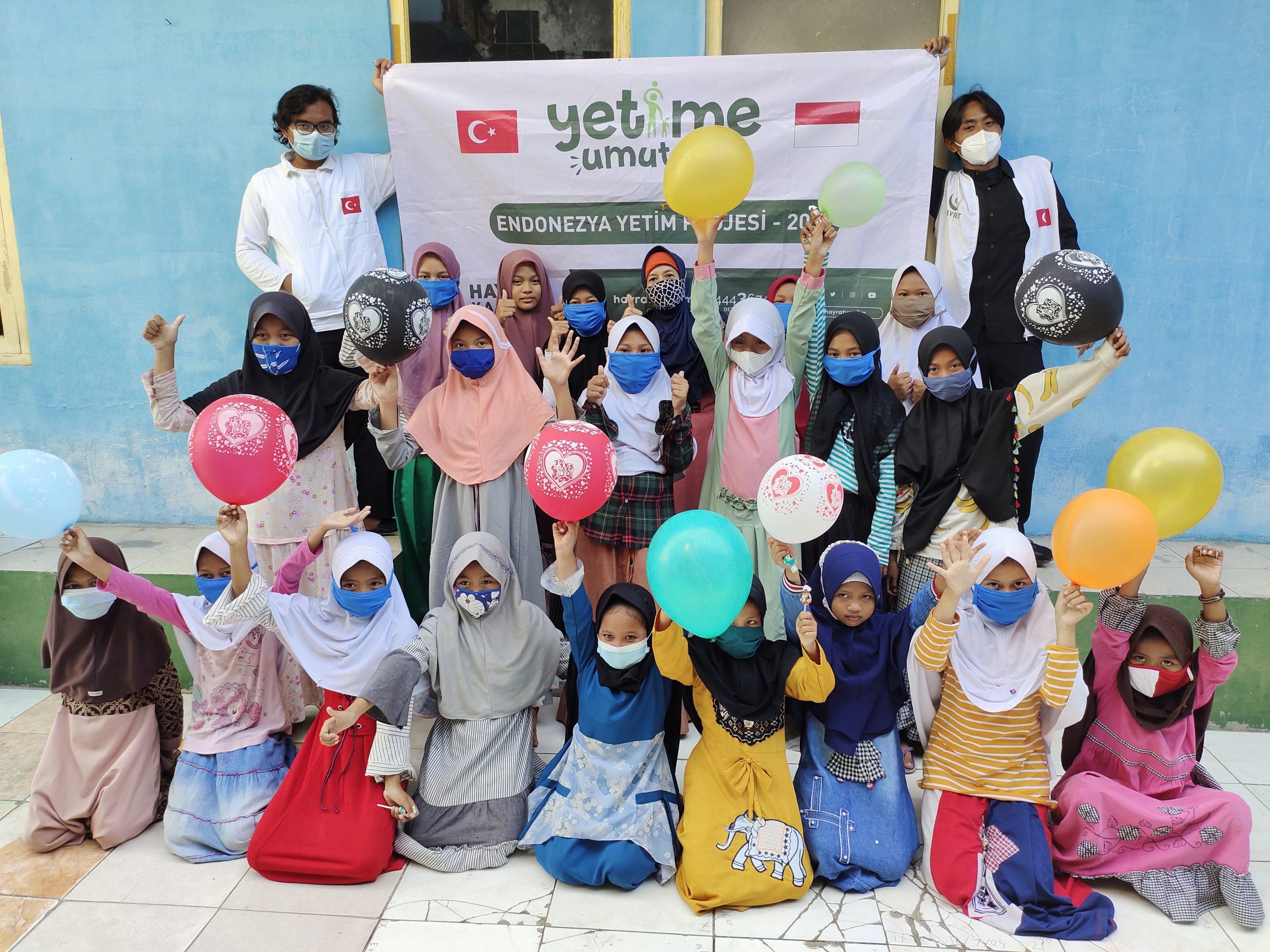 Bekerjasama Dengan Hayrat Yardim Turki, Yayasan Nurul Ansor Salurkan Bantuan Untuk Anak Yatim
