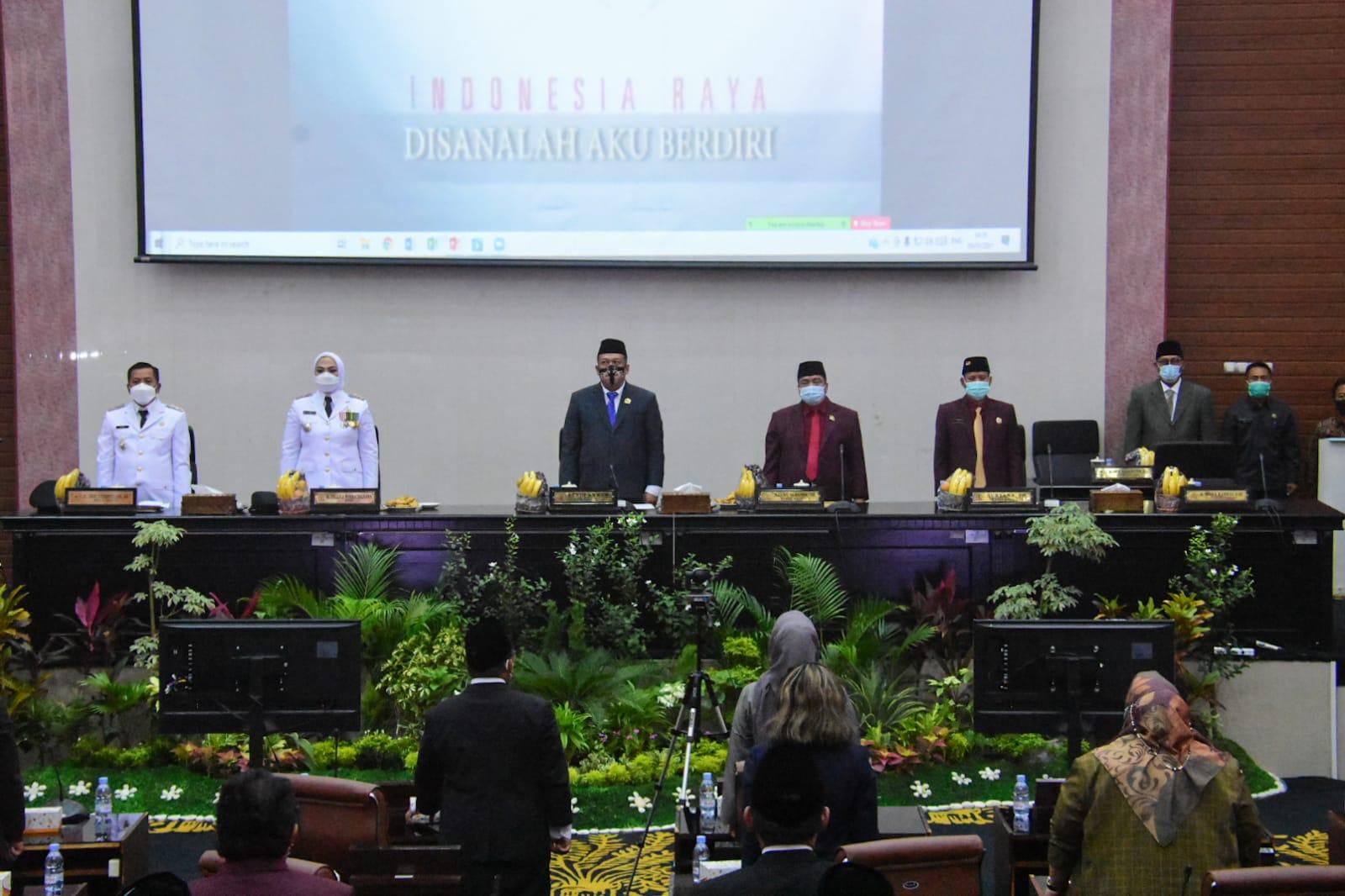 Cellica-H. Aep Sampaikan Pidato Pertama di Rapat Paripurna DPRD Karawang