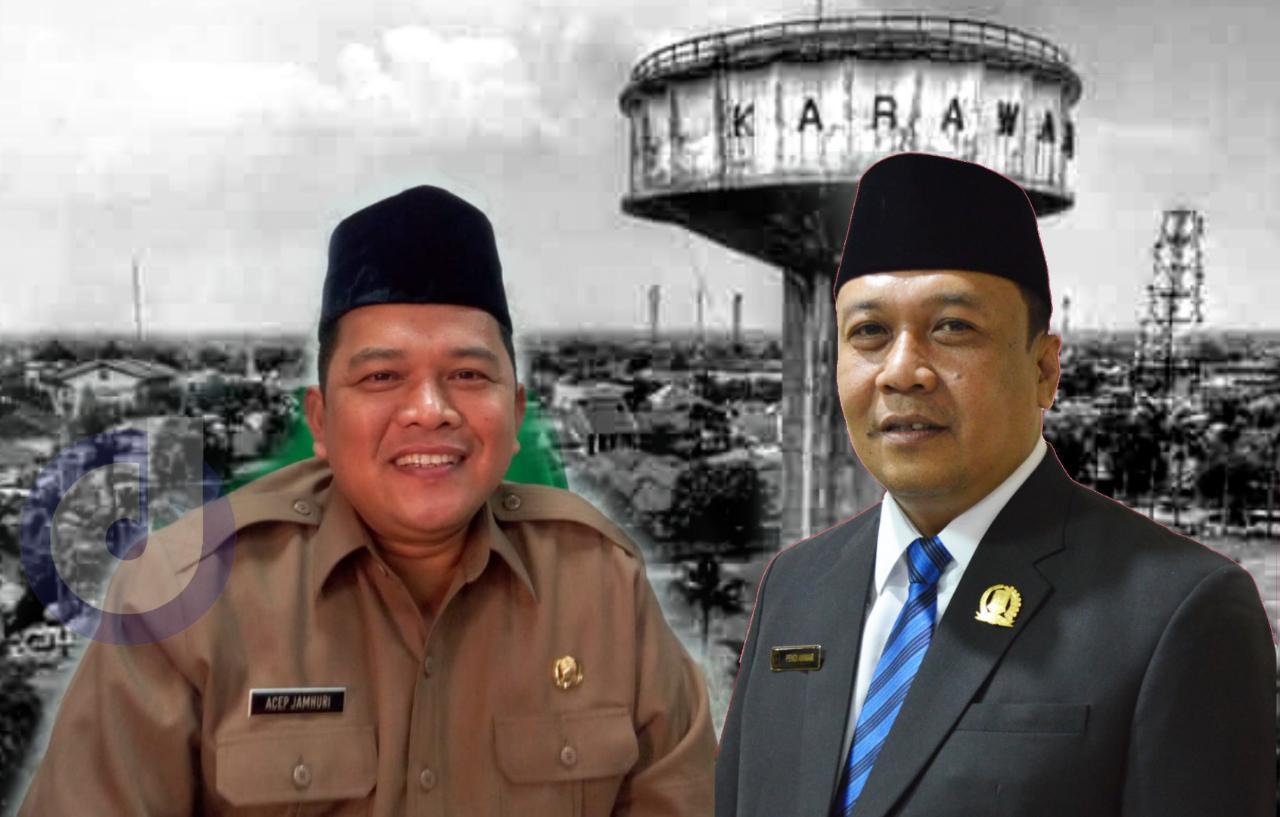 Soal Refocusing APBD 2021, Ketua DPRD Karawang dan Sekda Silang Pendapat