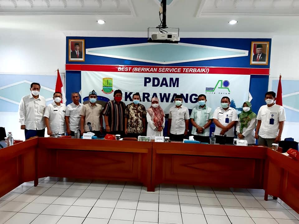 Mau Naikan Tarif, Komisi II DPRD Karawang Kunjungi PDAM