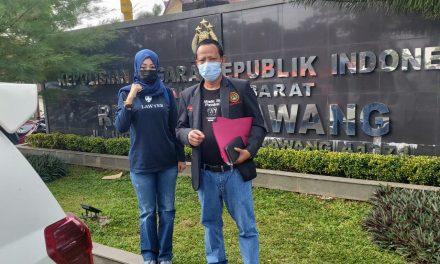 Diduga Korupsi Dana Desa, Kades Rawasari Dilaporkan ke Polres Karawang