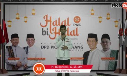 Dalam Halal Bihalal, Budiwanto Sampaikan Target DPD PKS di Pileg 2024