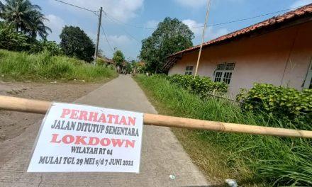 Imbas Lonjakan Covid-19, Dusun Waluya Dilockdown