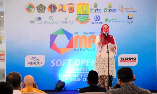 Mal Pelayanan Publik Kabupaten Karawang Resmi Diluncurkan