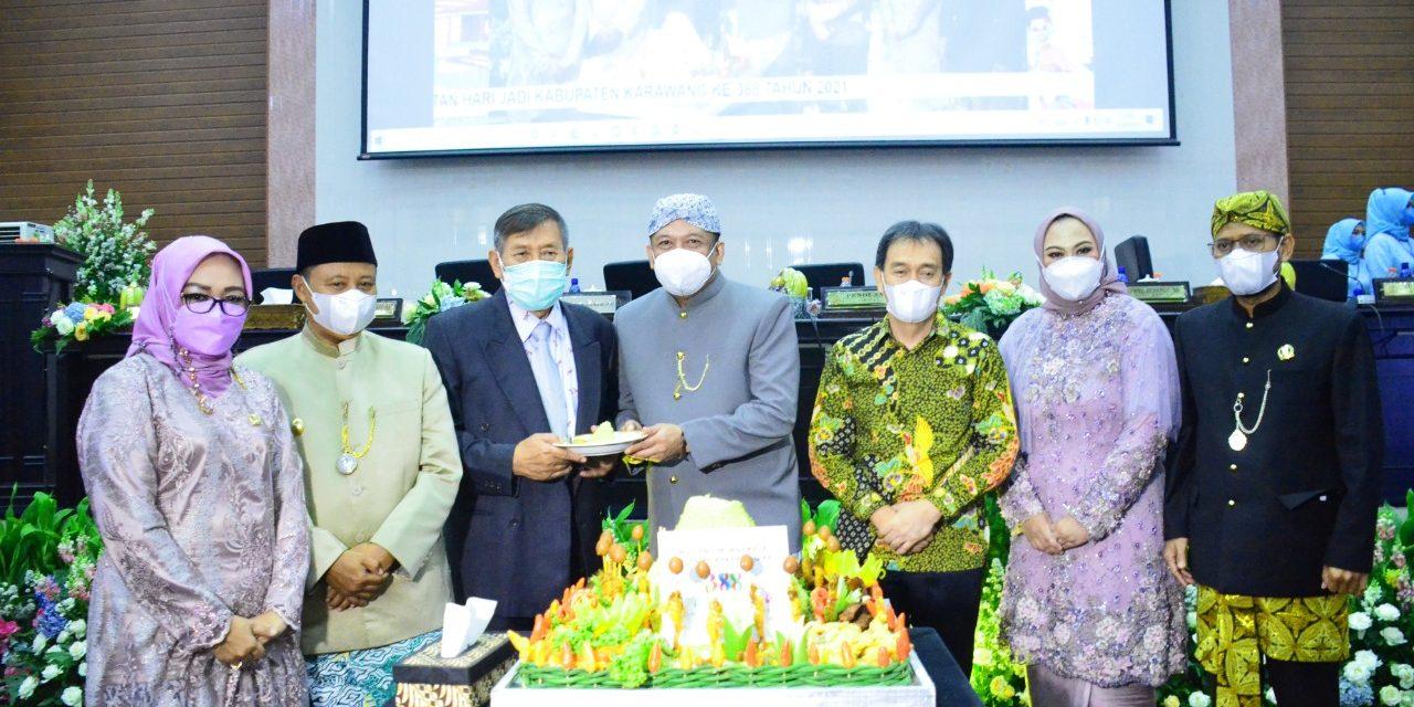 Sidang Paripurna Istimewa Peringatan HUT Ke-388 Kabupaten Karawang
