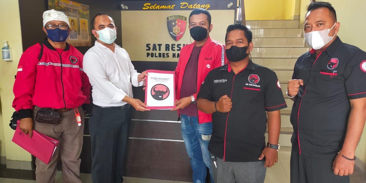 Diduga Sebarkan Berita Hoaks, PDIP Karawang Laporkan Hersubeno Arif ke Polisi