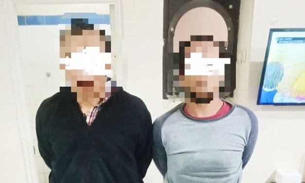 Lagi Asyik Bobol Apotek, Dua Pelaku Curat Ini Digelandang ke Jeruji Besi