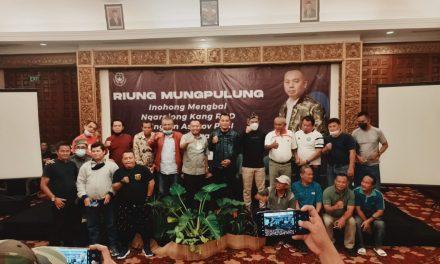 Didukung 45 Anggota PSSI, RHD Siap Nyalon Ketua Asprov PSSI Jabar